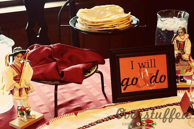 Back-to-School Feast and Family Theme: I Will Go and Do/I Can Do Hard Things