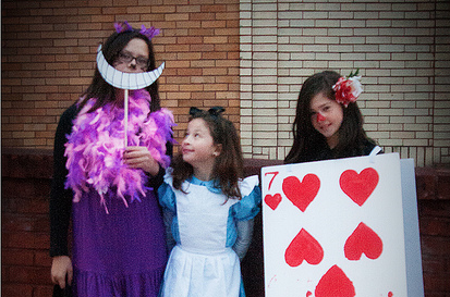 Trick-or-treating in Wonderland
