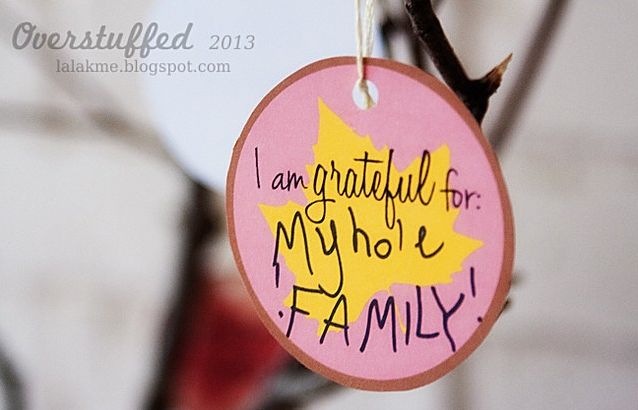 Thanksgiving Thankful Tree Printable