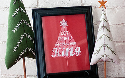 Six Christmas Printables Based on Beloved Christmas Carols