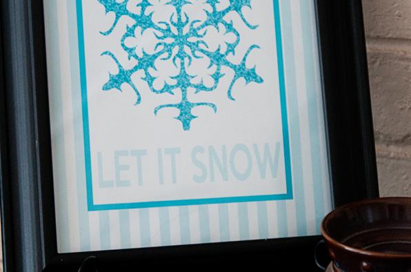 Let it Snow Printable