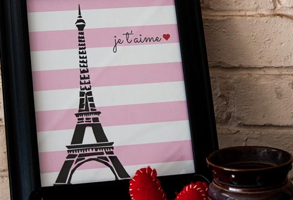Free Paris Valentine's Day Printable