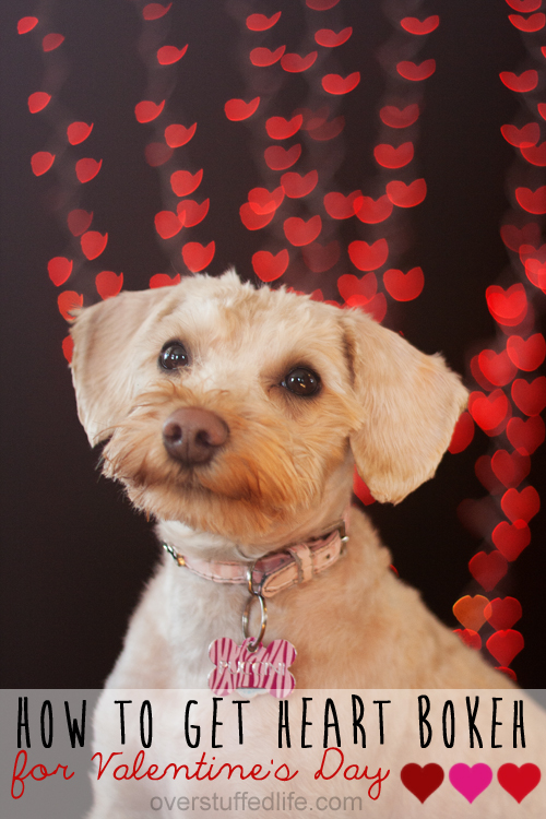 How to Make Heart Bokeh for Valentine's Day
