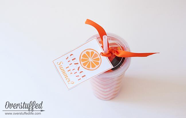Orange You Glad It's Summer? (Free Printable)