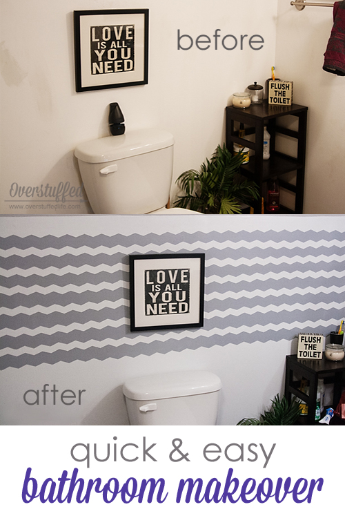 Quick & Easy Bathroom Makeover