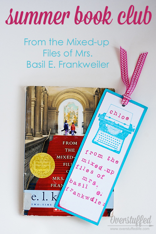 Summer Book Club: From the Mixed-up Files of Mrs. Basil E. Frankweiler