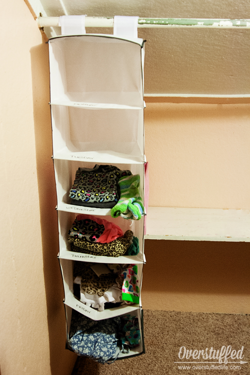 How to Keep Children's Clothes Organized (and off the floor)