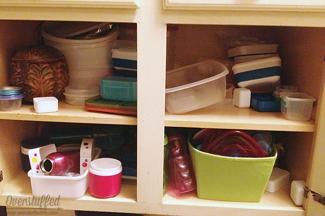 Decluttering the Kitchen Cupboards