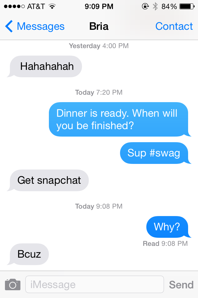 How I Got a SnapChat and Other Sunday Adventures