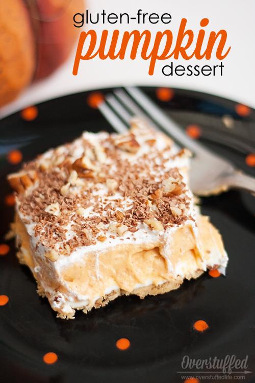 Gluten-free Pumpkin Pudding Dessert