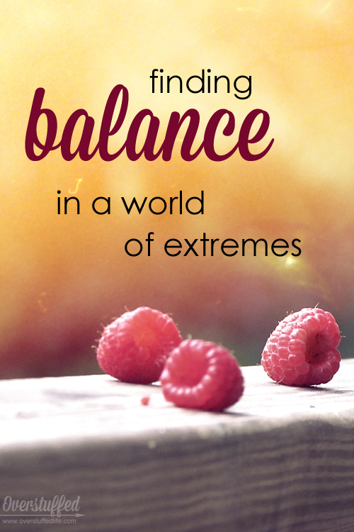 Finding Balance in a World of Extremes