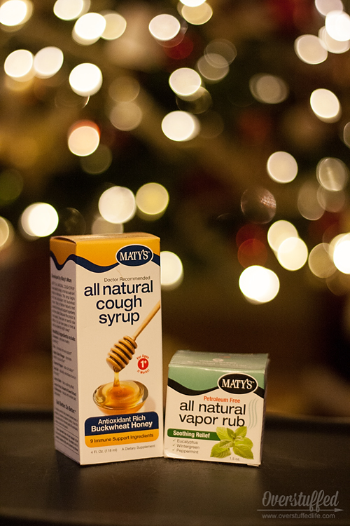 Stay Healthy this Holiday Season with Maty's All Natural Products