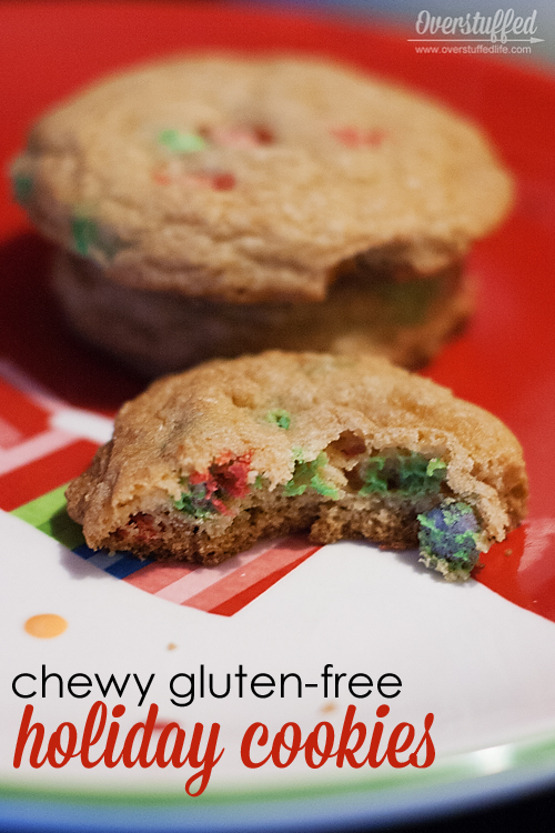 Chewy Gluten-free Holiday Cookies