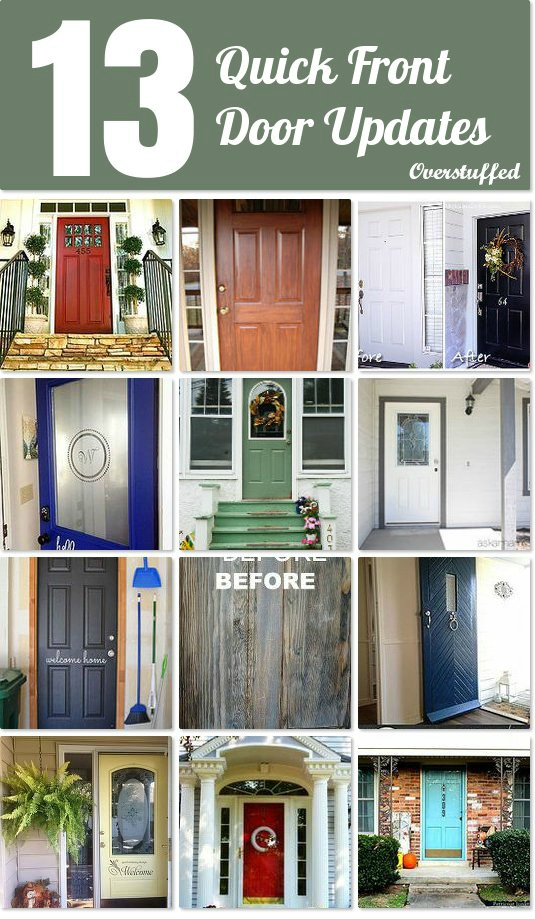 13 Quick Front Door Updates