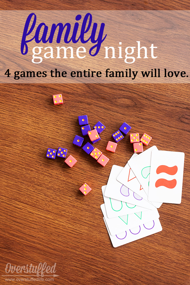 Family Game Night: 4 Games the Entire Family Will Love