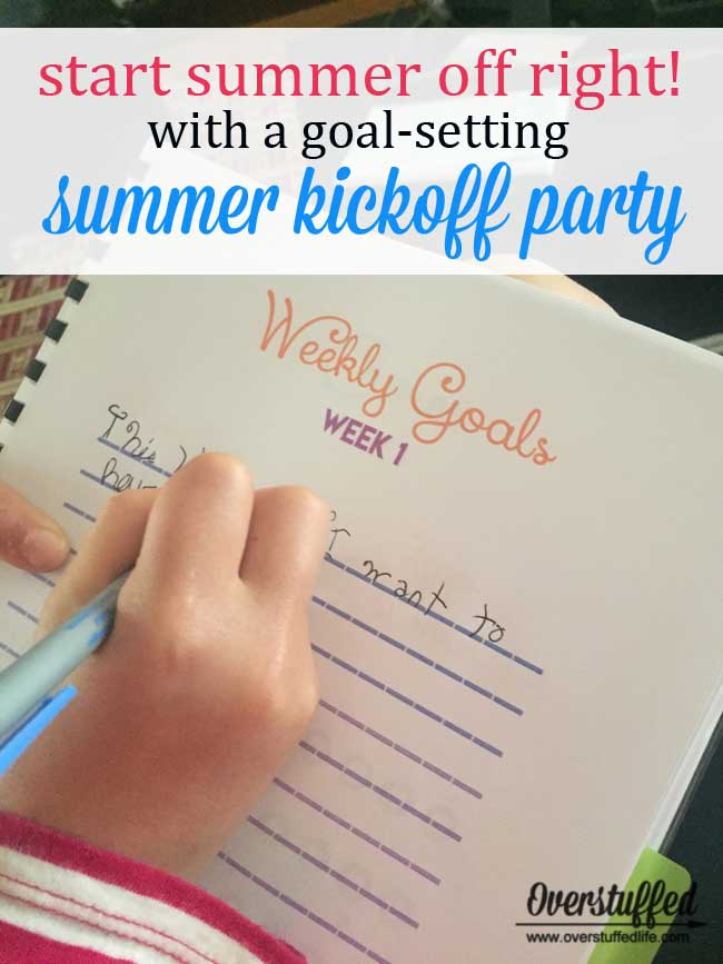 How to Throw a Summer Kickoff Party for Your Kids