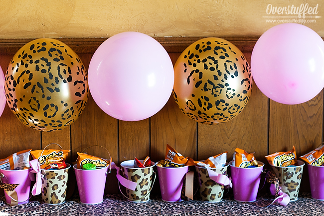 Super Simple Cheetah Birthday Party Ideas