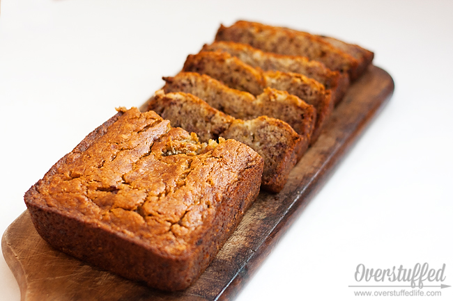 Perfectly Moist Yogurt Banana Bread