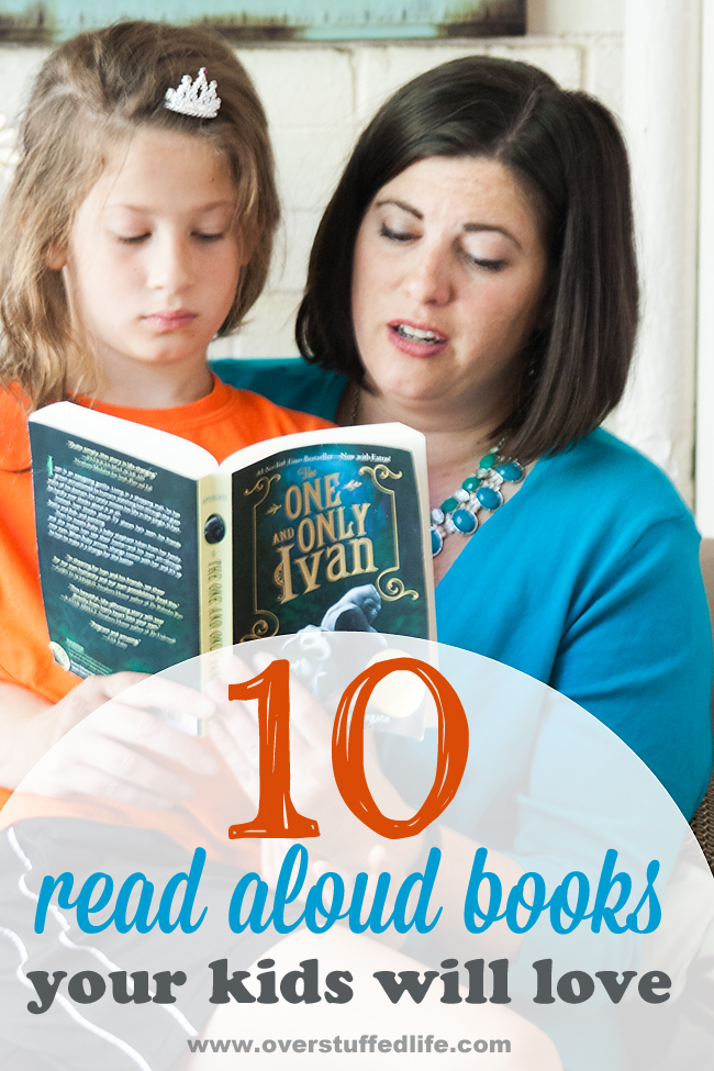 10 Read Aloud Books Your Kids Will Love