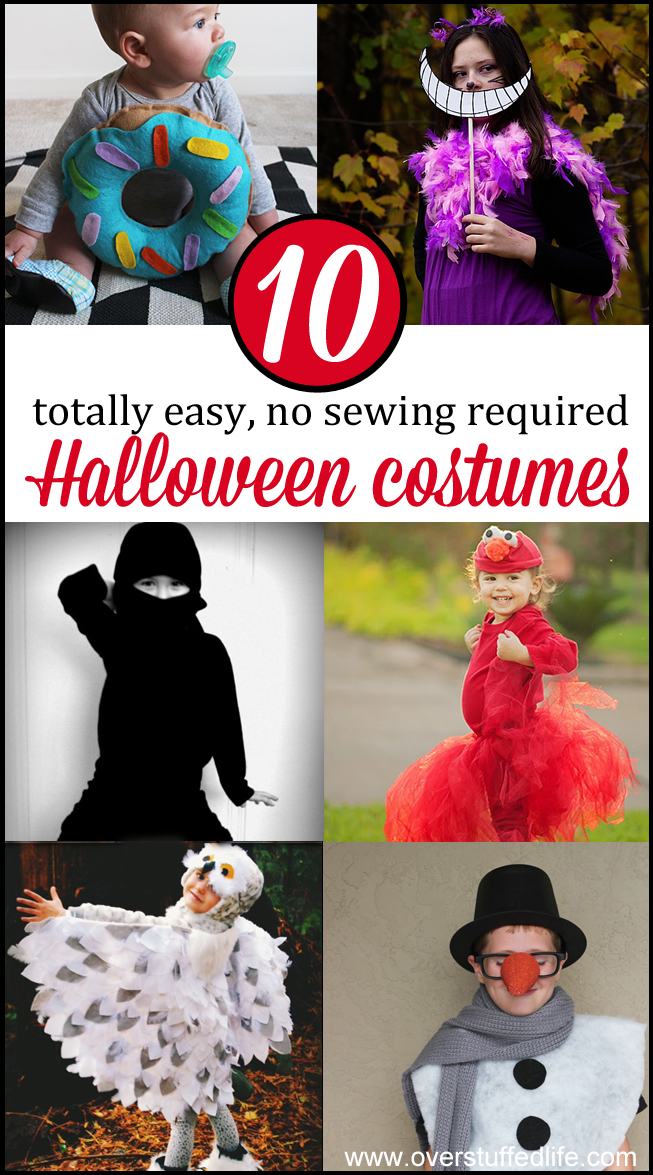 10 No Sew Halloween Costumes Anyone Can Make