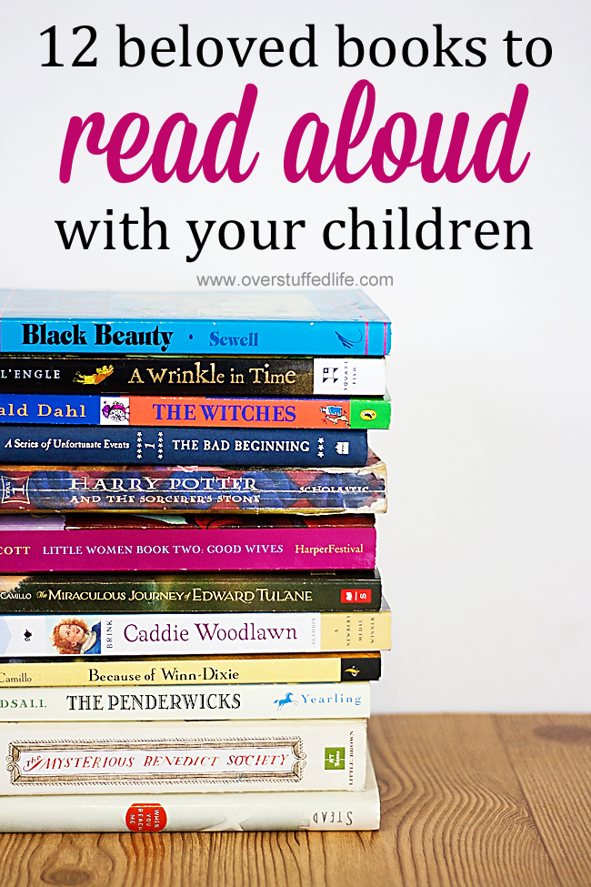 12 Beloved Books to Read Aloud With Your Children