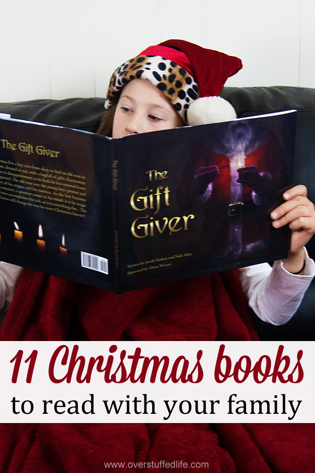 11 {more} Christmas Books to Read With Your Family