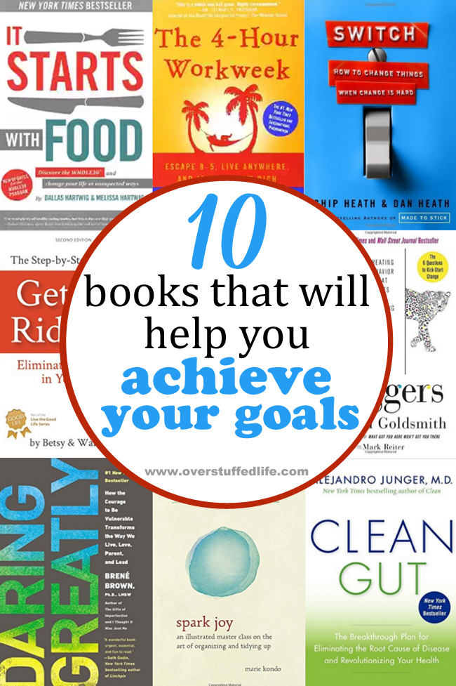 10 Books That Will Help You Achieve Your Goals