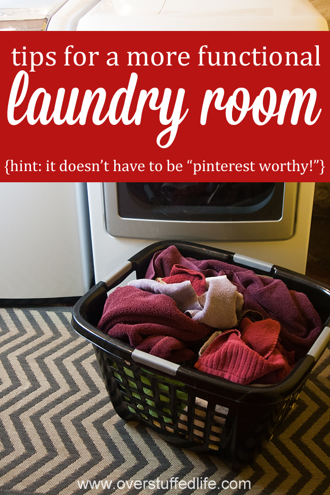 6 Tips for a More Functional Laundry Room