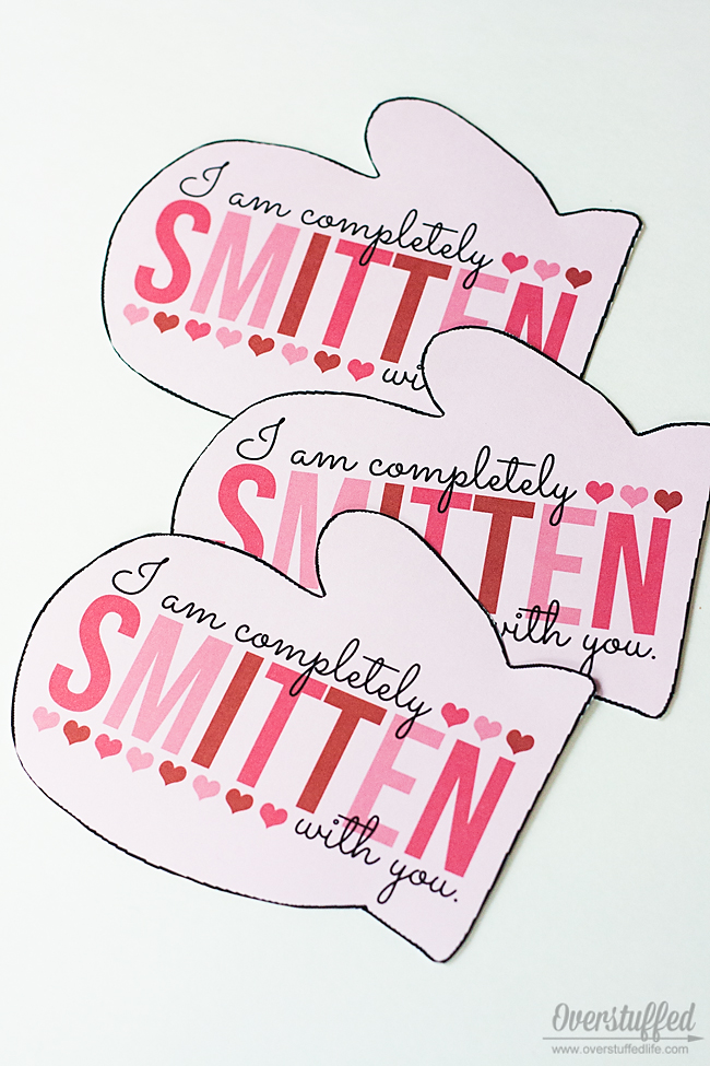 I'm Completely Smitten With You Valentine's Day Printable