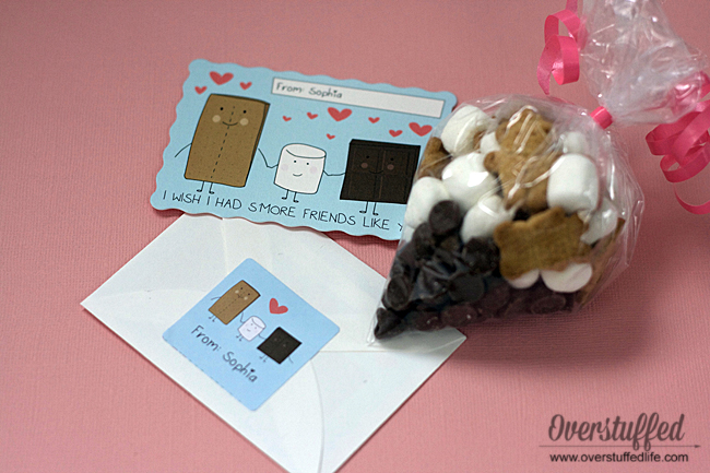 """I Wish I Had S'more Friends Like You"" Valentine Idea"