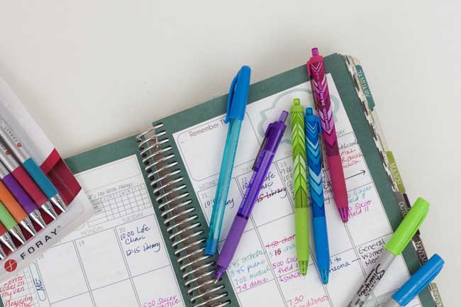 What Are the Best Pens to Use for Paper Planners?