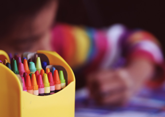 How to Organize and Save Kids' Artwork Without the Clutter
