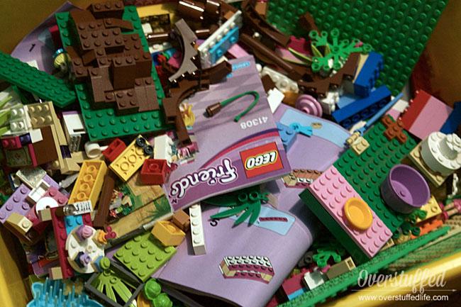 Simple LEGO Organization Idea