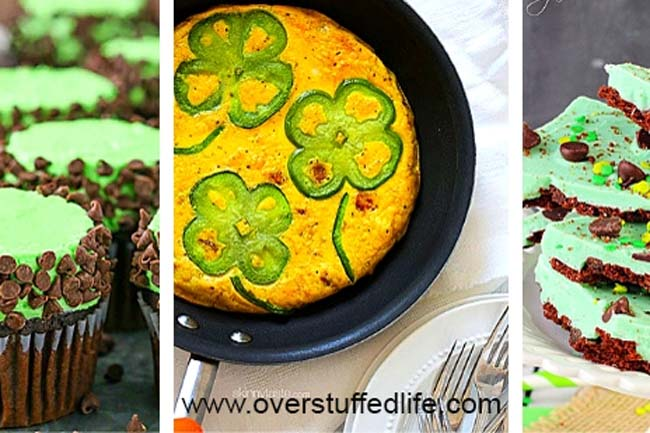 21 Green Food Ideas for St. Patrick's Day