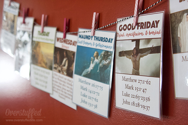 Holy Week Free Easter Printables
