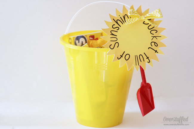 Bucket Full of Sunshine—Free Printable & Gift Idea