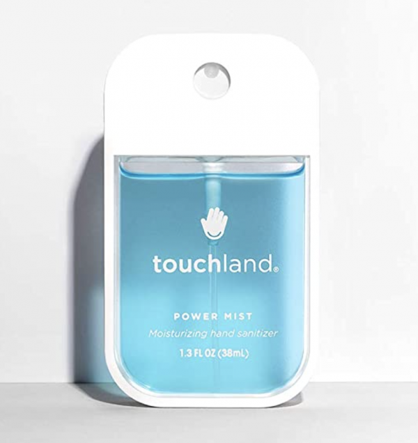 Teenagers love touchland power mist hand sanitizer.