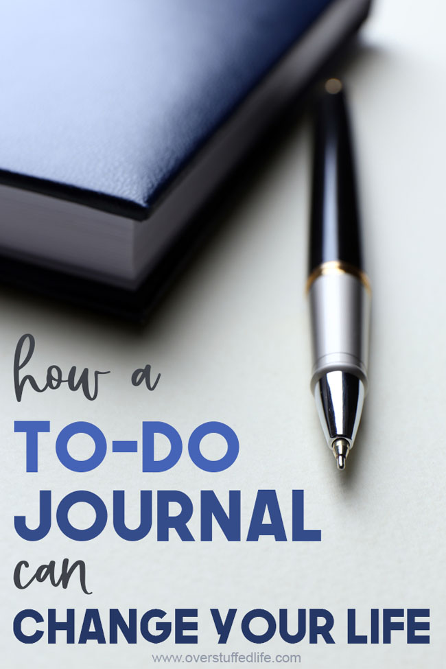 Declutter Your Mind With a to-do Journal