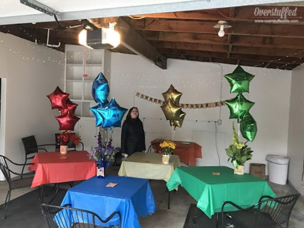 Avatar the last airbender birthday party decor