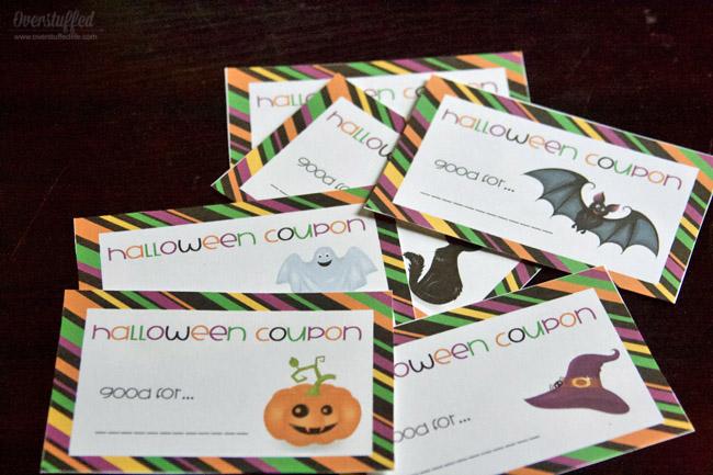 Printable Halloween Coupons